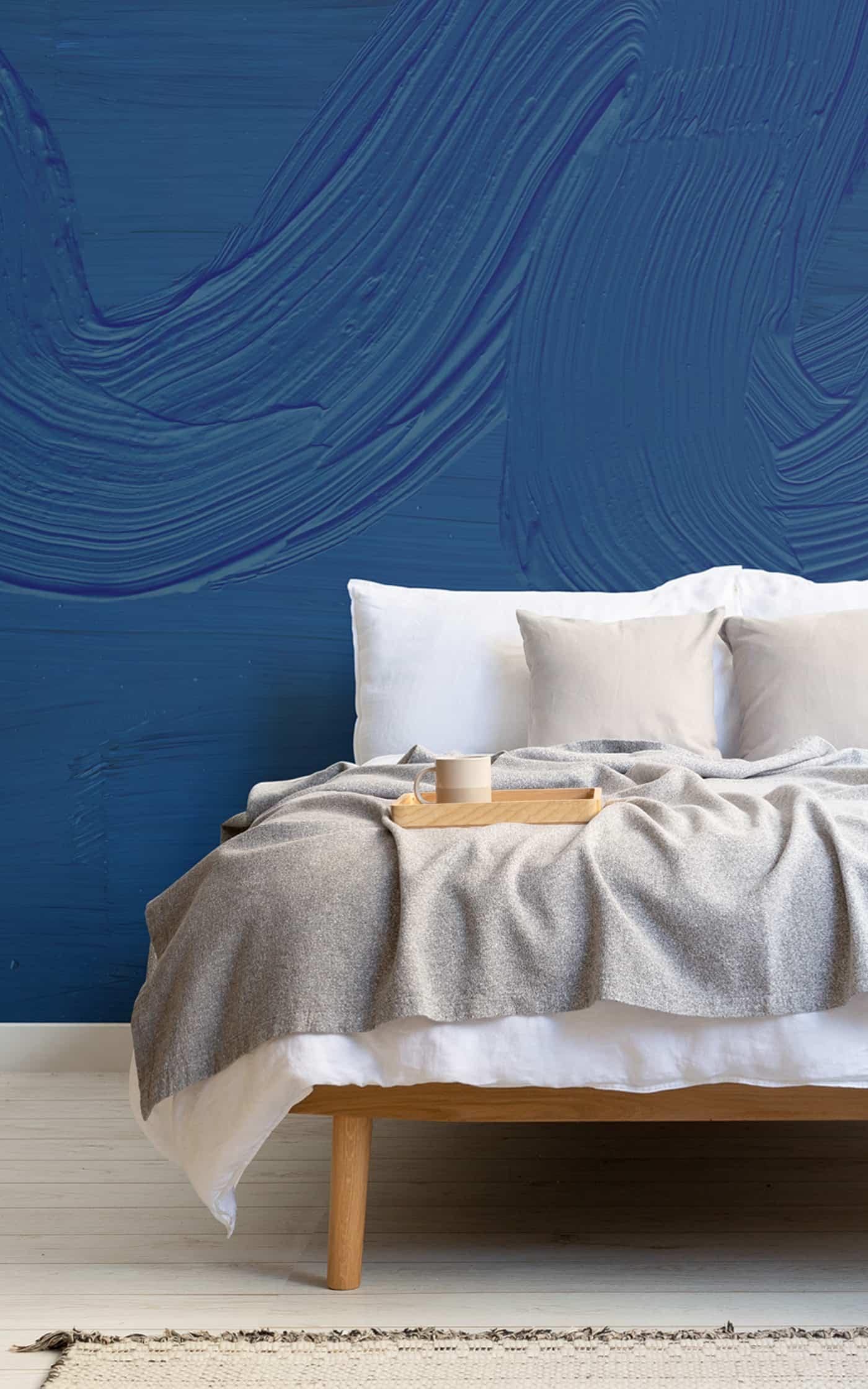 Dusk Classic Blue mural Lifestyle Portrait