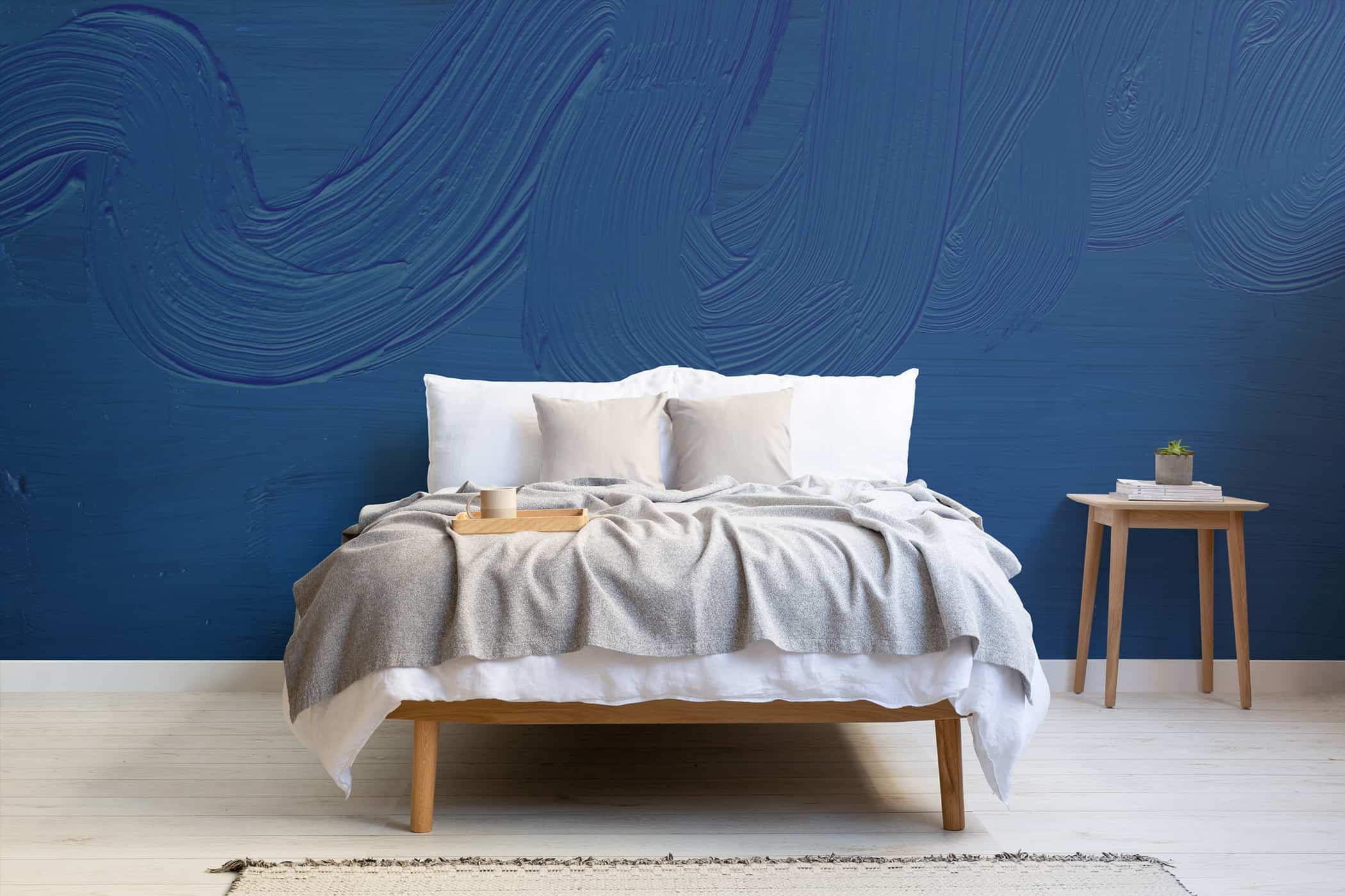 Dusk Classic Blue mural Lifestyle